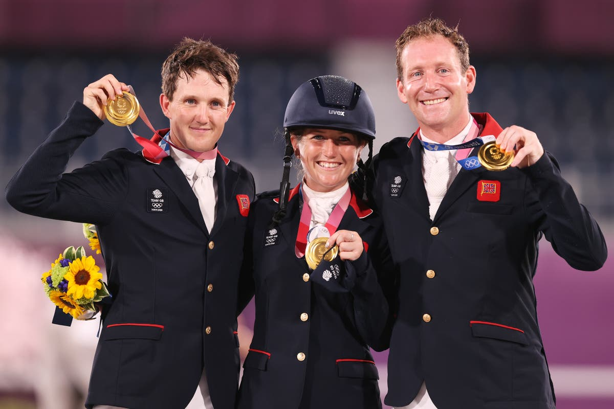 Team GB secure eventing gold before Tom McEwen wins individual silver