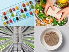 Cocktails in seaweed pods, mealworm pasta and farms inside grocery stores: Welcome to the future of food
