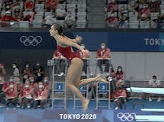 Tokyo Olympics: Canadian explains bailing out of springboard dive and scoring zero: 'I am human'