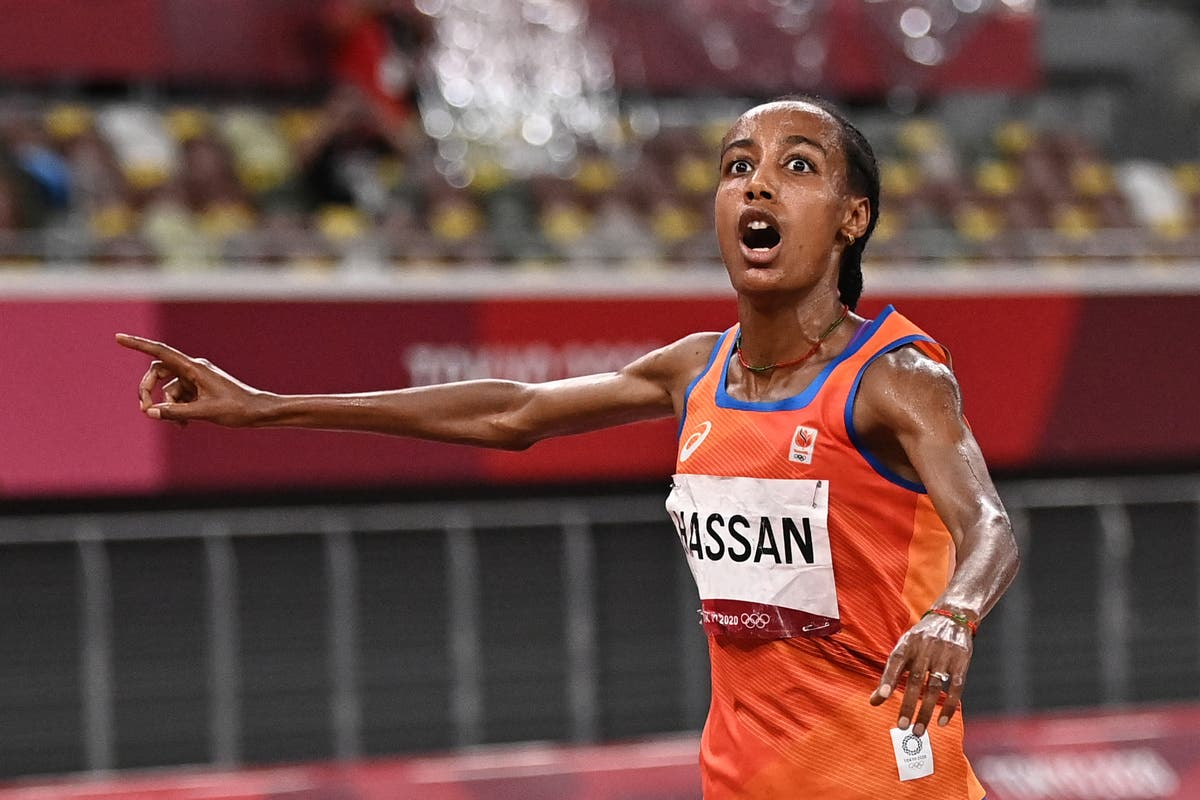 Sifan Hassan completes 5,000-10,000m double Olympic gold