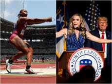 Lara Trump sparks outrage for saying many hope US Olympian Gwen Berry loses over race protest