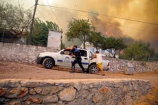 'It was raining ashes': Thousands flee as wildfires devastate Turkish coast