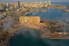 Tensions are running high in Lebanon one year on from the Beirut blast
