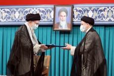 Iran supreme leader endorses hard-line protégé as president