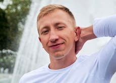 Vitaly Shishov: Head of Belarus exiles group found dead in Ukraine as Olympian defects