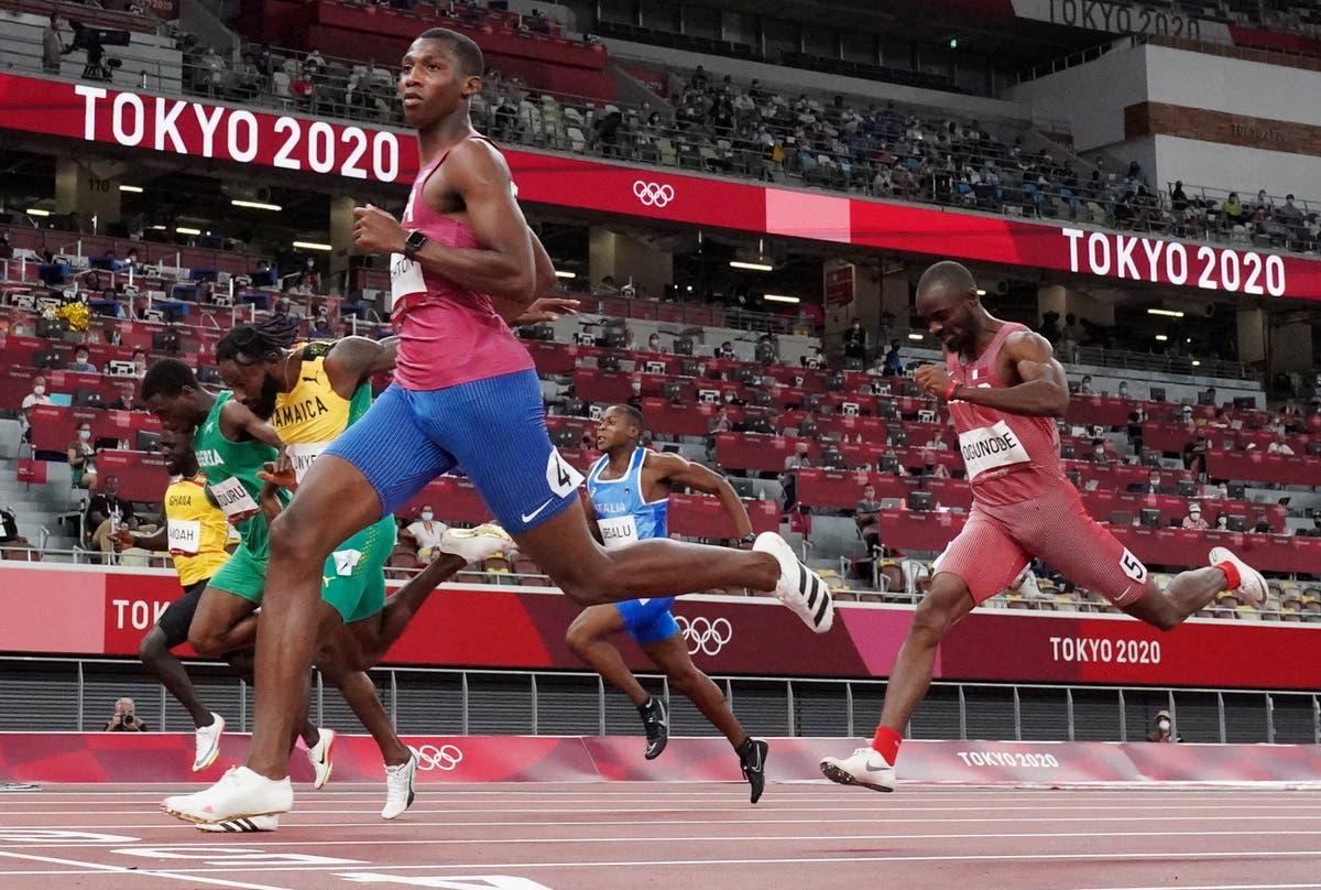 10代のエリヨンナイトンがチームUSAの男子200m決勝にスプリント