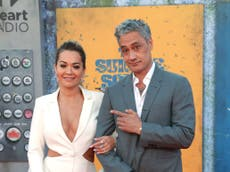 Taika Waititi and Rita Ora fans celebrate as couple attend premiere of The Suicide Squad together