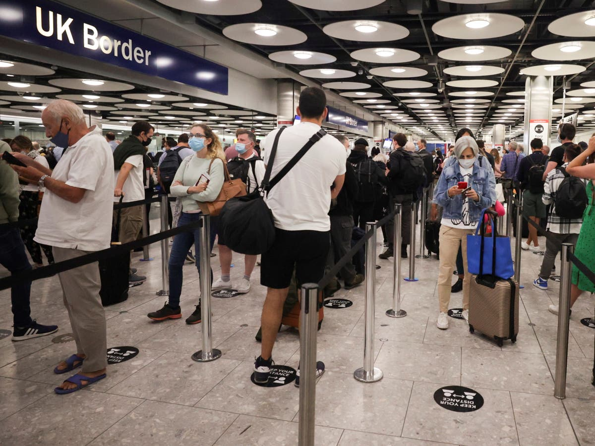 MPs call for action to end 'chaotic' scenes at borders ahead of relaxation of travel rules