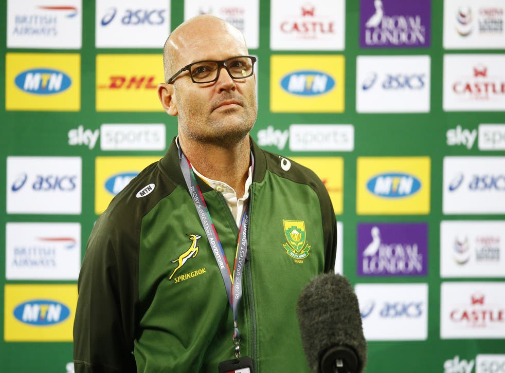 <p>南アフリカのヘッドコーチ、ジャック・ニーナバーが2人の人事異動�p�行いました (スティーブハーグ/ PA)</p>