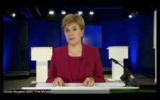 Scotland to lift most coronavirus restrictions next Monday, Sturgeon announces