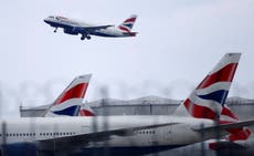 British Airways offers lie-flat beds on one-hour flights to Paris and Amsterdam