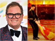 Alan Carr worried to go on Strictly in case he becomes 'the Ann Widdecombe' of the series