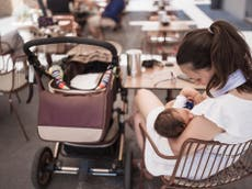 One fifth of breastfeeding mums have been harassed while feeding their children in public