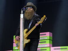 Dusty Hill's widow Charleen McCrory shares moving tribute after ZZ top bassist dies aged 72