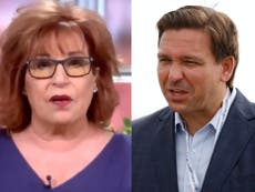 The View's Joy Behar blasts Florida Governor Ron DeSantis 'a negligent, homicidal sociopath'