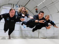 Who are the four civilians joining SpaceX's Inspiration4 trip to orbit