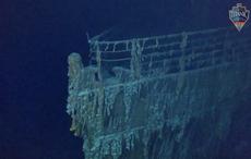 New deep-sea images show Titanic shipwreck deteriorating