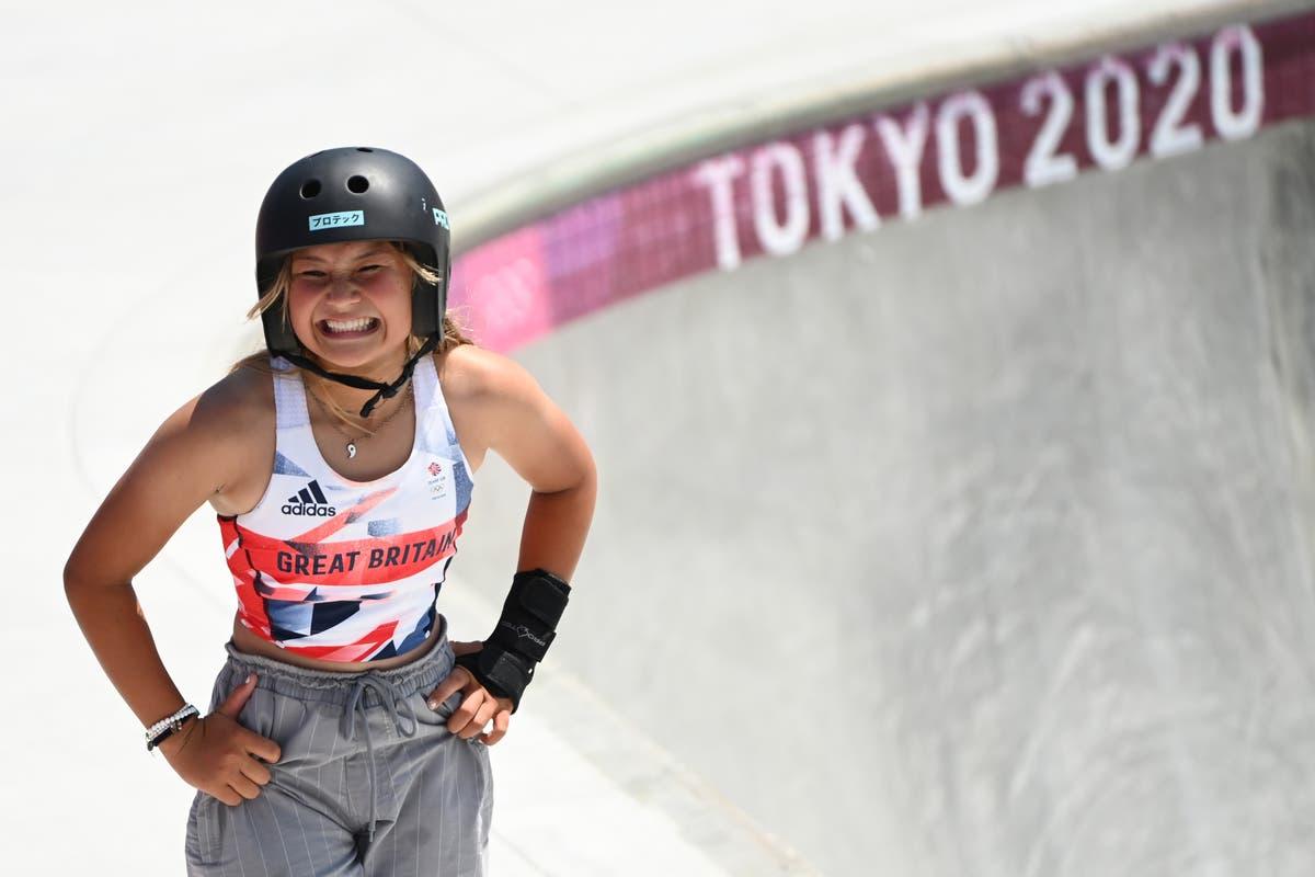 スカイブラウン, 13, 銅メダルを獲得し、英国で最年少のオリンピックメダリストになりました