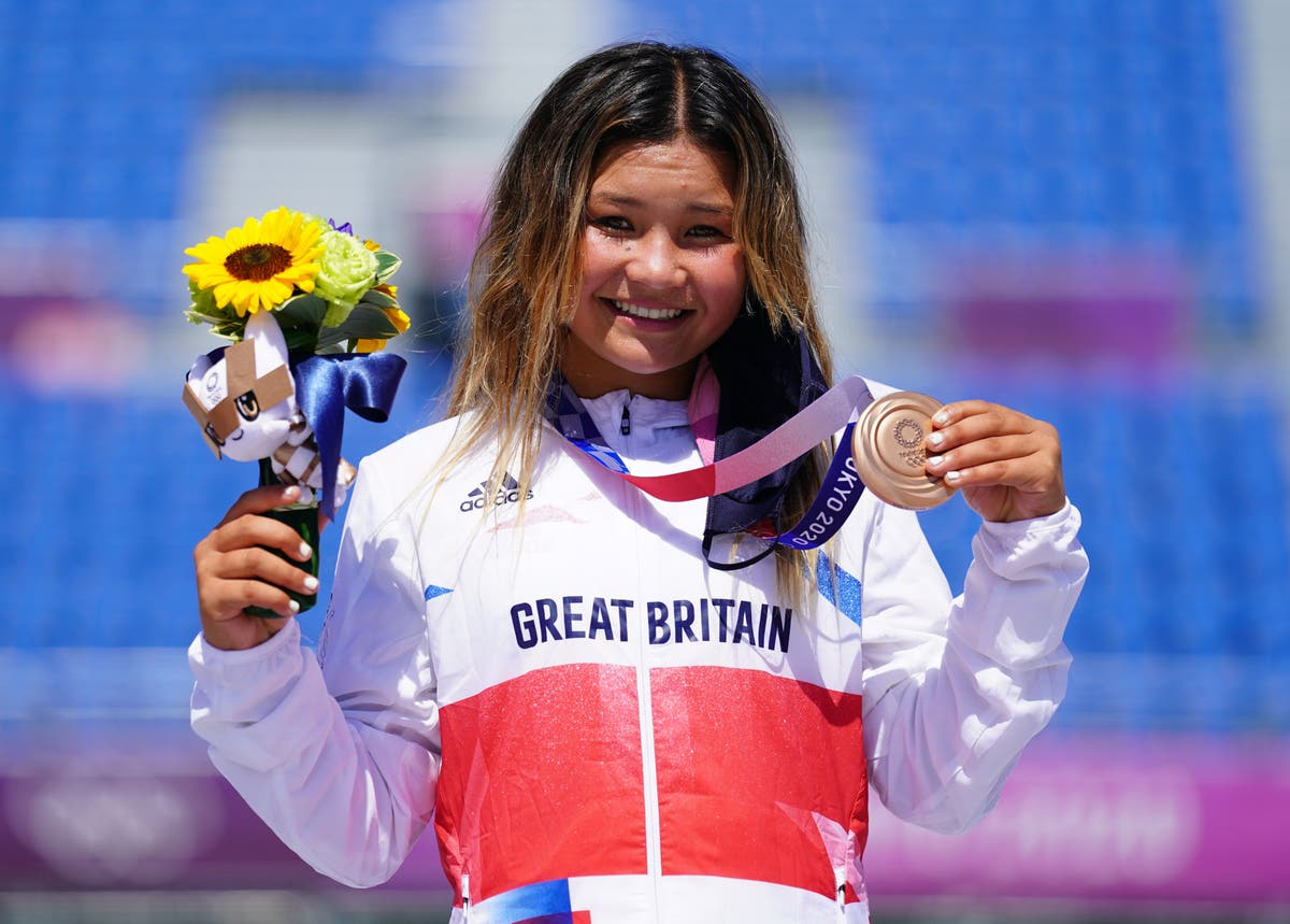 Sky Brown's 'really cool' bronze makes her GB's youngest Olympic medallist