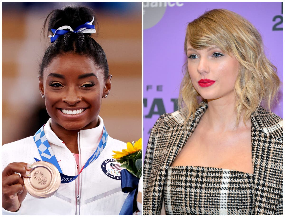 Taylor Swift shares powerful message for Simone Biles