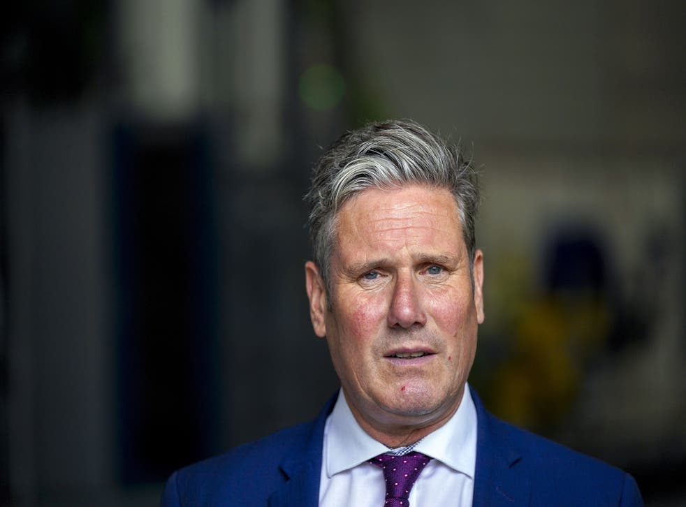 <p>Starmer slammed the UK government's response to the climate crisis</p>