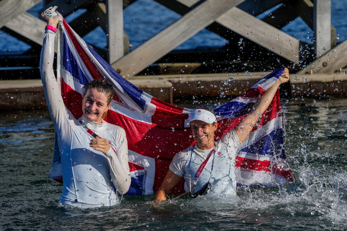 It felt like a really nervous Christmas – Hannah Mills thrilled to seal gold