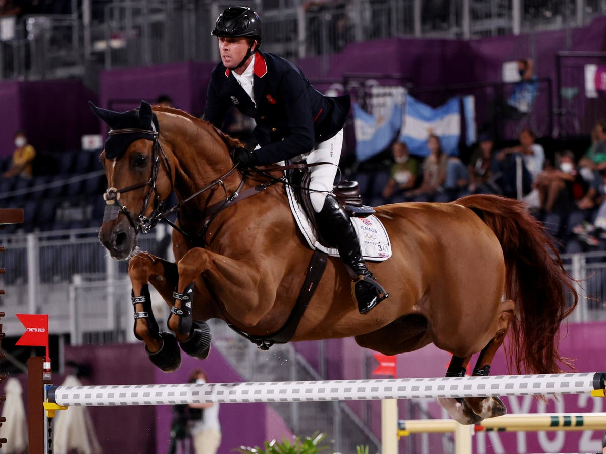 Who is British showjumper Ben Maher?