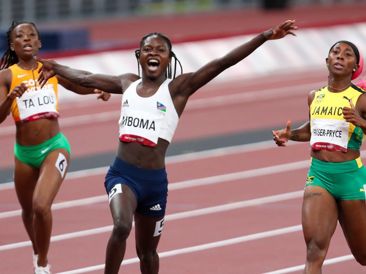 Sebastian Coe on 'uncomfortable' duty as Christine Mboma sprints into spotlight