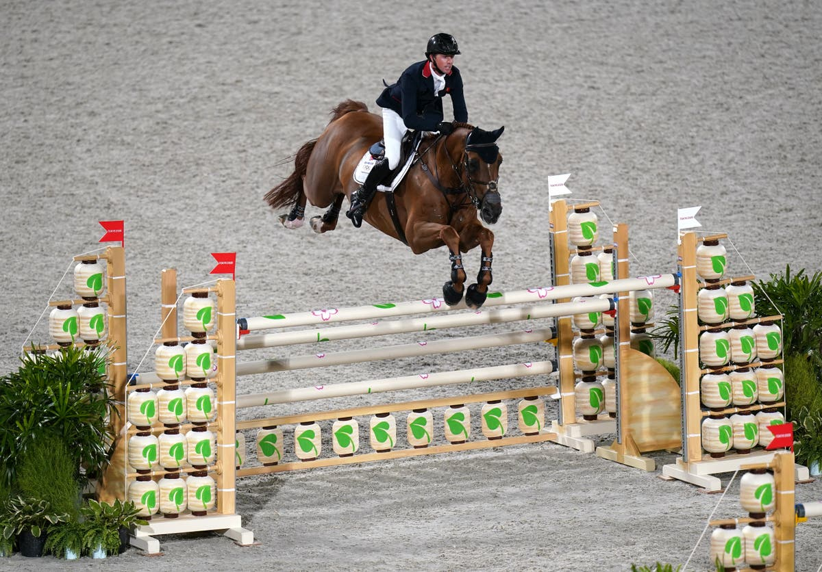 Ben Maher jumps to equestrian gold for Team GB