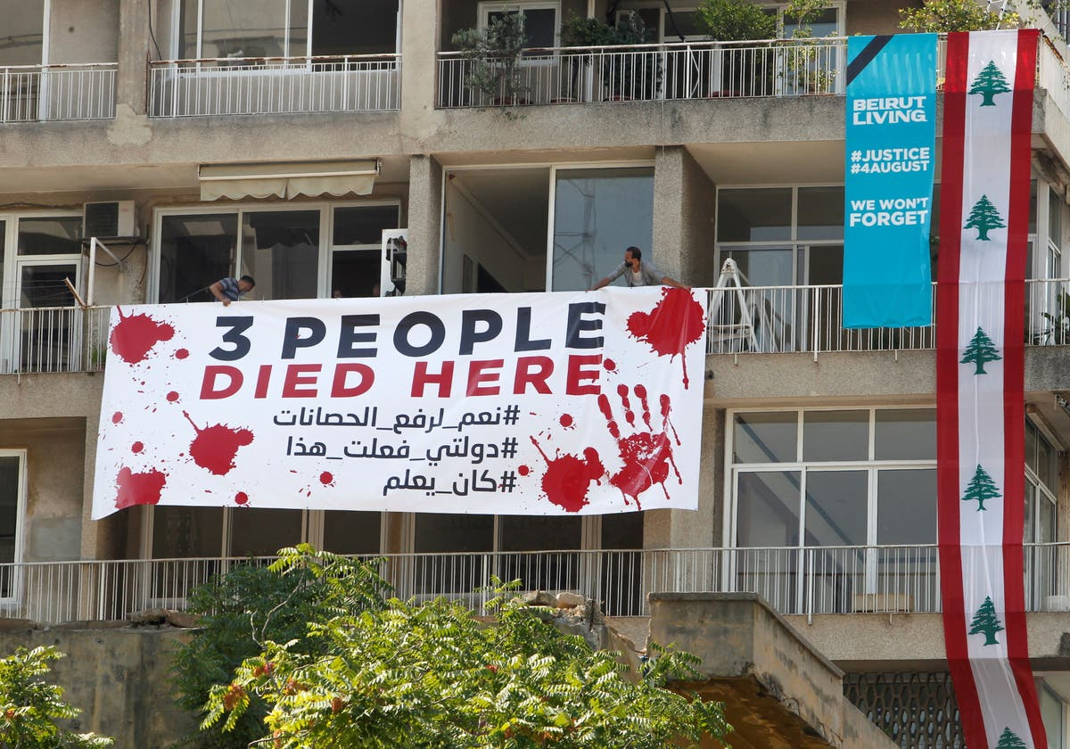 Protesters in Lebanon call for justice on one-year anniversary of deadly explosion