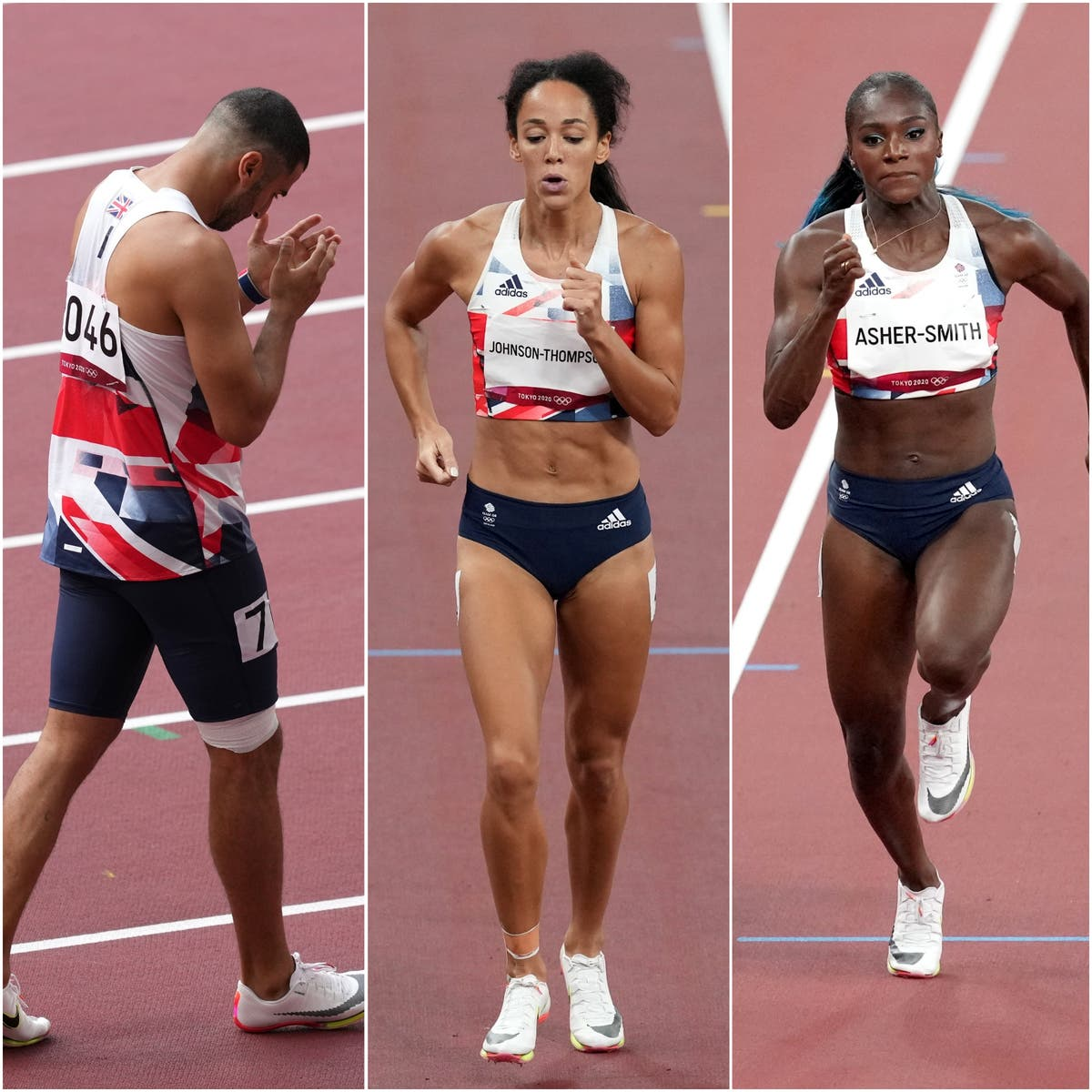 Team GB's athletics medal hopes badly hampered by injury problems in Tokyo.