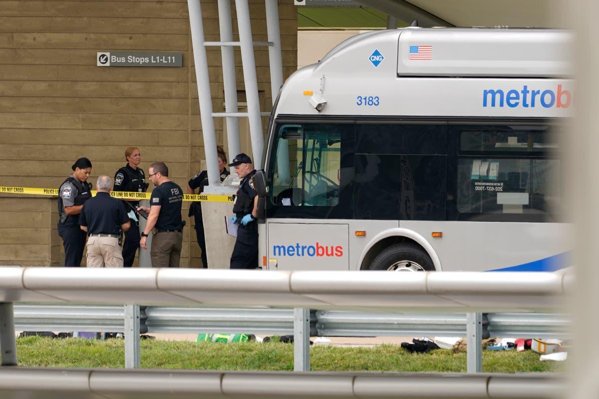 Suspect and slain officer identified in Pentagon Metro bus platform stabbing