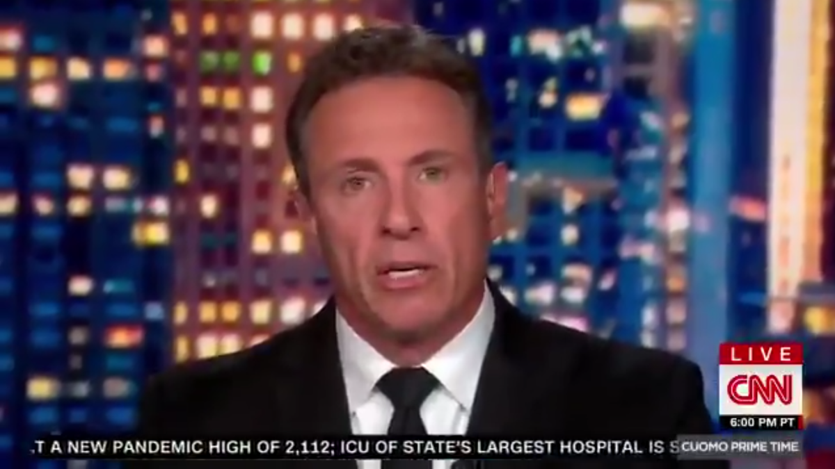 Chris Cuomo accused of sexual harassment by female TV producer