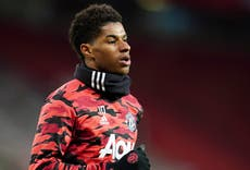 Marcus Rashford urges health professionals to help families sign up for food vouchers