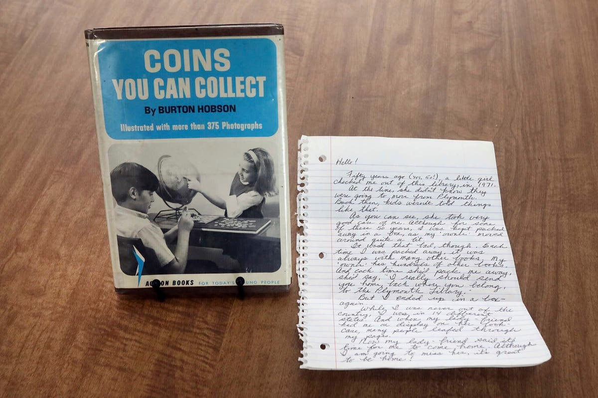 Library book returned after 50 years with $20 bill