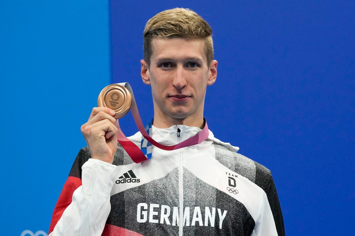 Olympics Latest: Germany's Wellbrock wins marathon swim