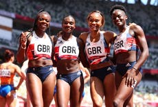 Tokyo-OL: Dina Asher-Smith returns in 4x100m relay to help set new national record