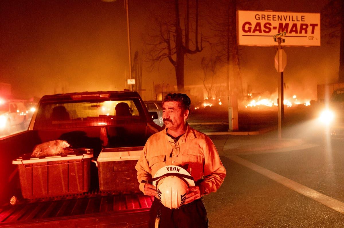 Un incendie ravage une ville du nord de la Californie, niveler les entreprises