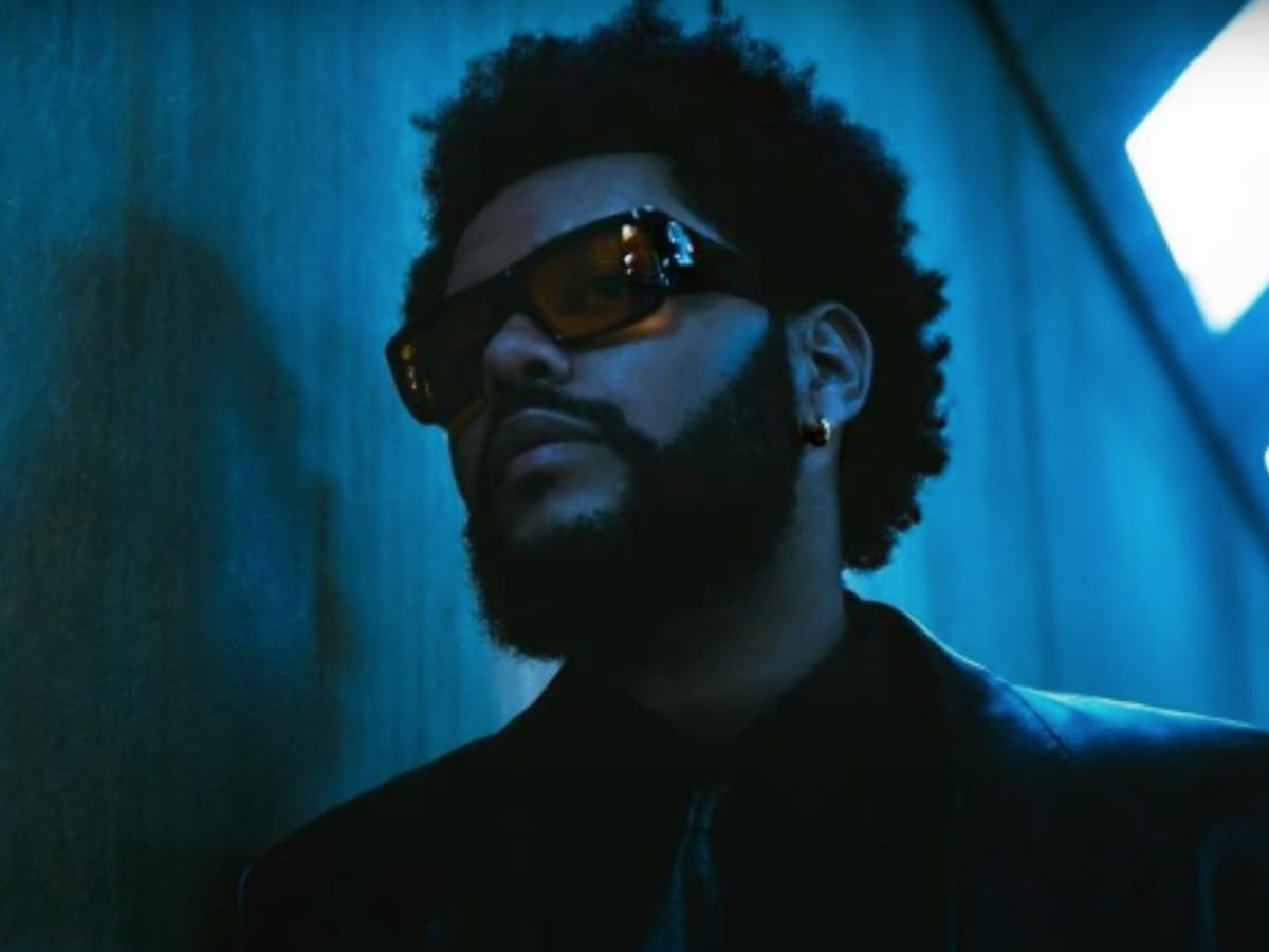 The Weeknd's new music video pulled from Imax cinemas over fears it may trigger seizures