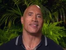 Dwayne Johnson reacts to 'f***ed up' question about his abs in Jungle Cruise interview