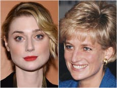 The Crown: Elizabeth Debicki as Princess Diana and Dominic West as Prince Charles - first look