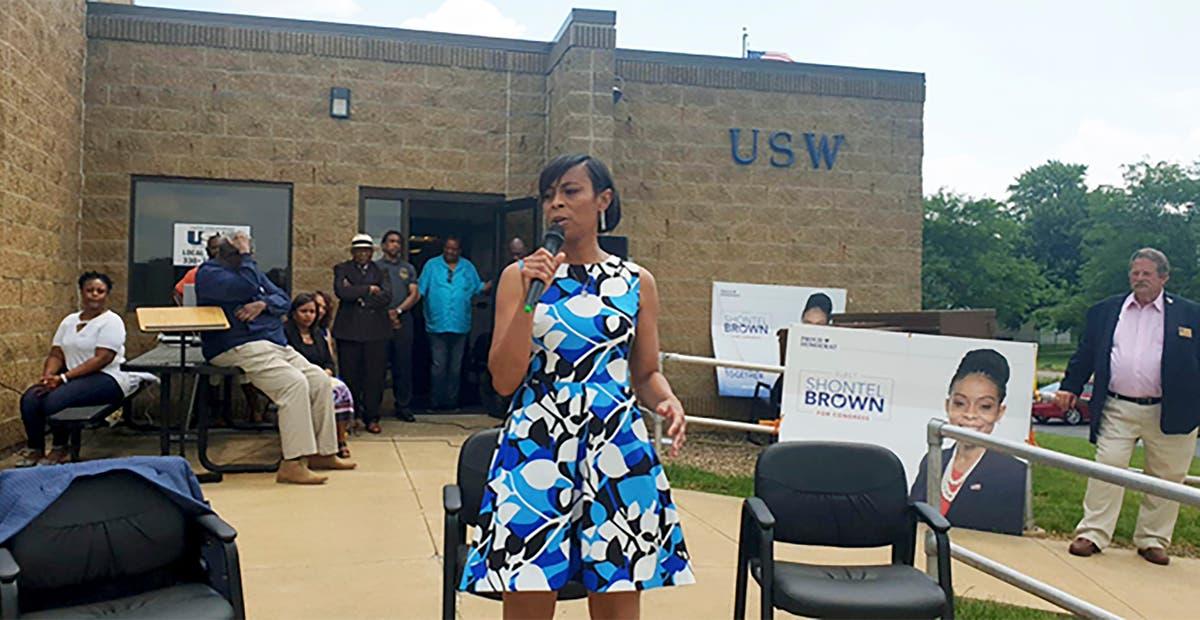 Q&UMA: Democrat Shontel Brown on how she won Ohio primary