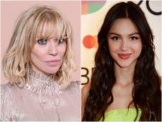 Olivia Rodrigo responds to Courtney Love's album cover plagiarism claims