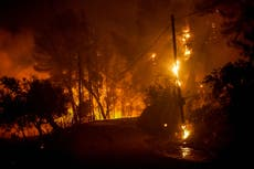 Fires rage in Greece for a third day as 25 more villages are evacuated across the country