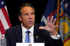 Aide currently employed by Andrew Cuomo who accused governor of sex harassment says he committed a crime