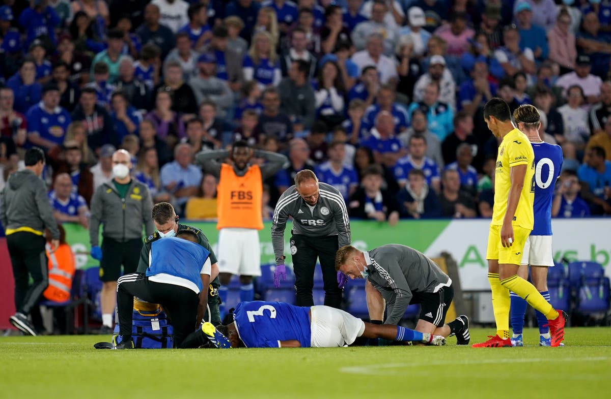 Leicester 'devastated' by pre-season injury suffered by defender Wesley Fofana
