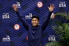 Team USA diver Jordan Windle credits adoptive father who saved him from Cambodia orphanage for his success