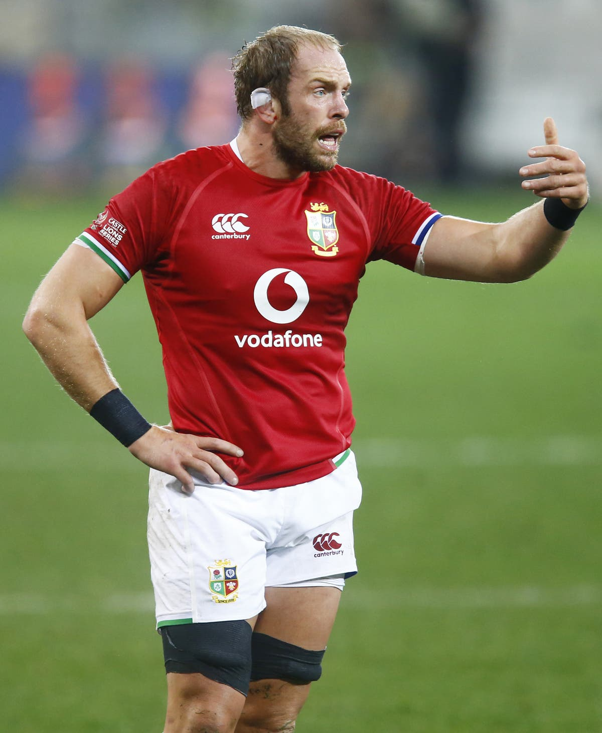 Alun Wyn Jones calls on Lions players to keep their discipline in decider