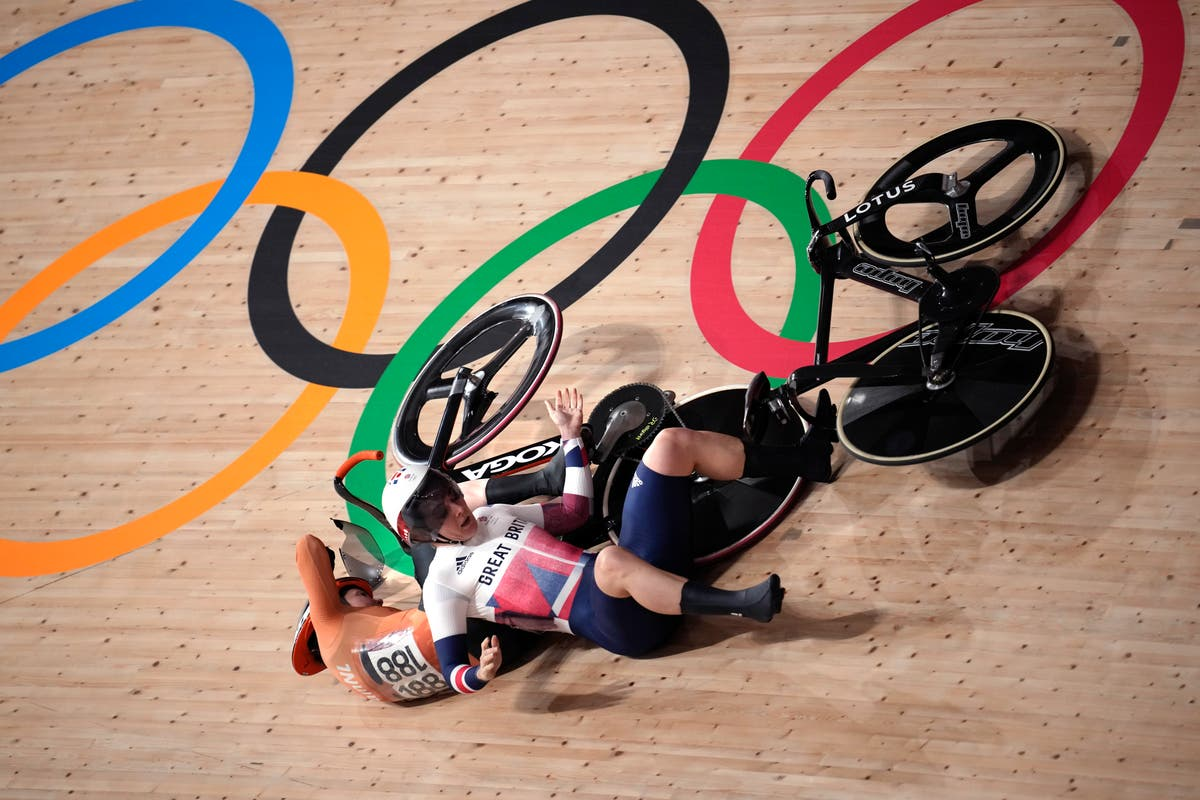 Olympics Latest: Dutch cyclist recovering after crash