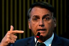 Brazil's chief justice nixes peace talks with Bolsonaro